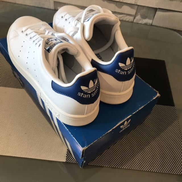 cheap for discount b3a12 583d5 Adidas Stan Smith Royal Blue Tab 4.5Y (6 Womens) on Carousell