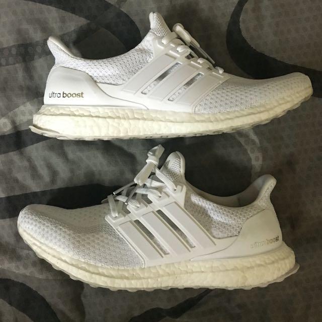 Adidas Ultra Boost 2.0 Triple White(used) 6481ea891