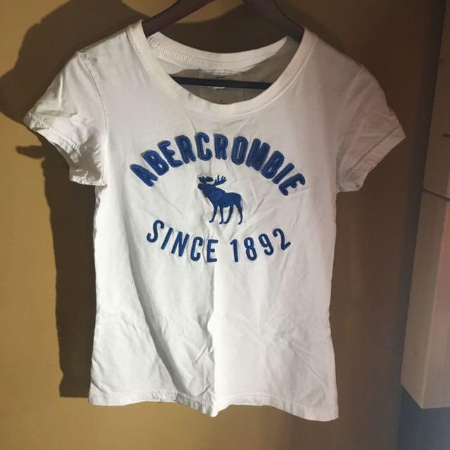 A&F 基本款T恤