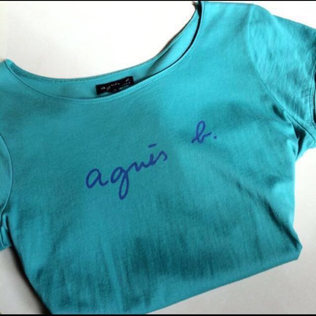 Agnes b. 湖水綠 正常版上衣