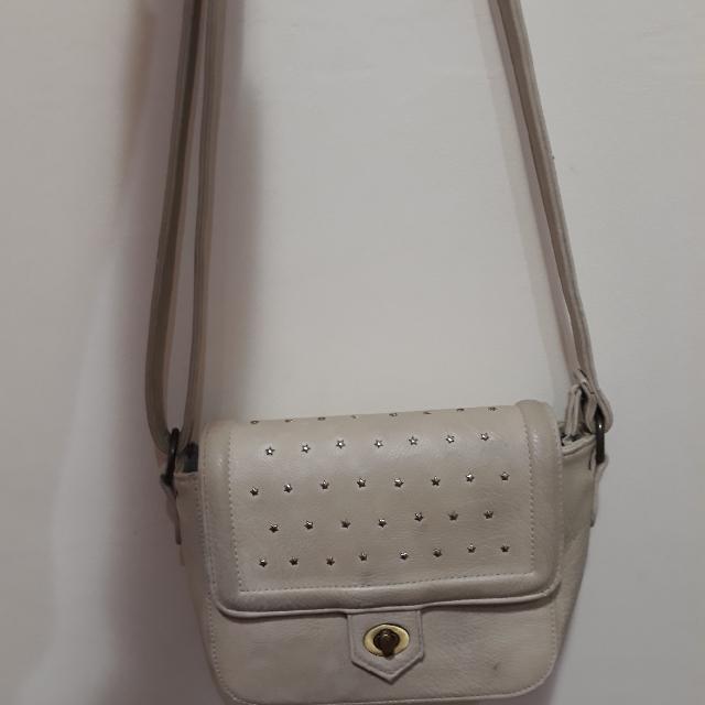 Alibi Paris Sling Bag Broken White