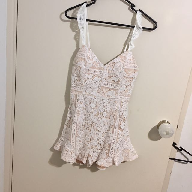 Angel biba lace Playsuit