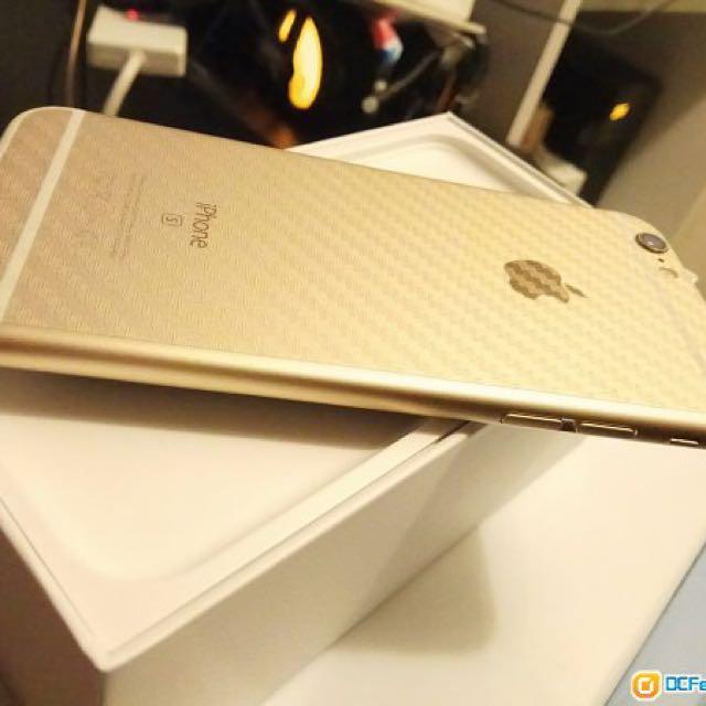 Apple iPhone 6s 64G 金色 4.7吋 香港行貨