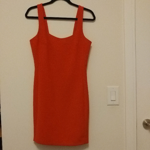 Armani Exchange Red Dress