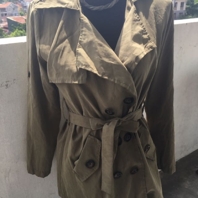 Army Colored Trench