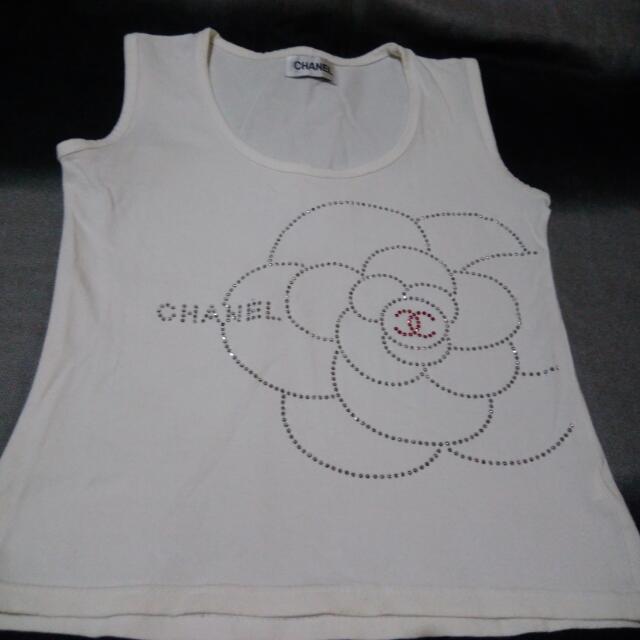Authentic CHANEL SLEEVELESS TOP