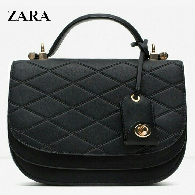 2db52f4560 Authentic Zara topstitched croos bag  freepostage