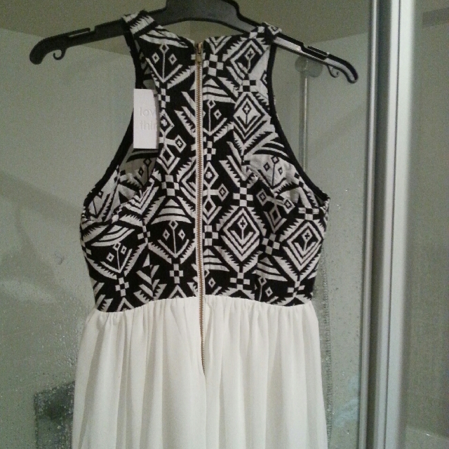 Aztec Maxi Dress Size 8