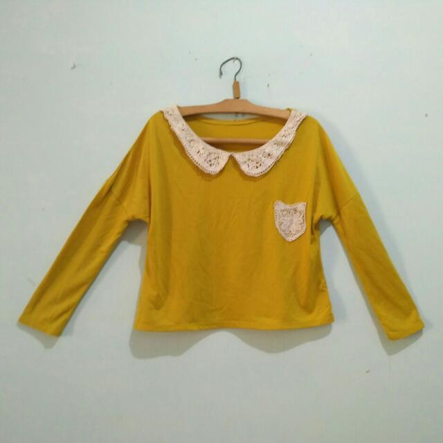 Baju atasan kuning