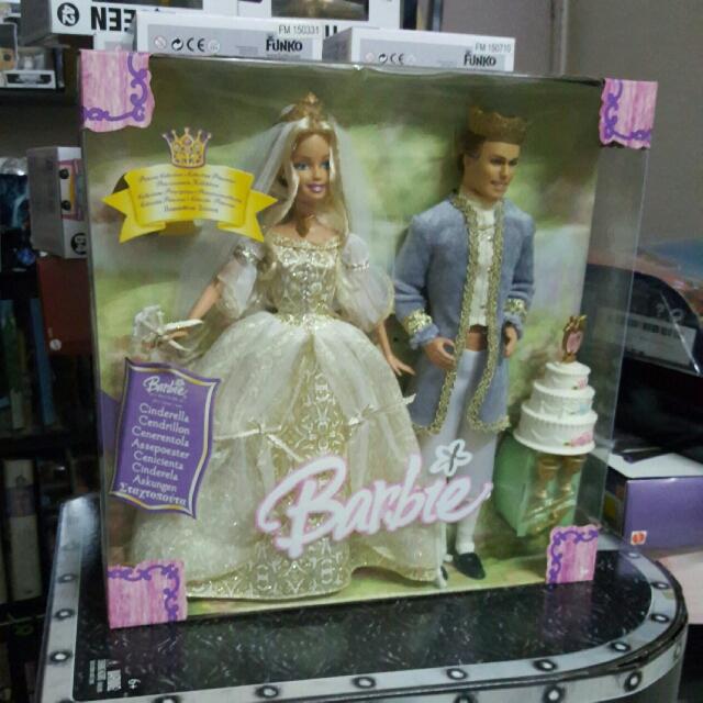 [REDUCE]⬇Barbie Cinderella Wedding Set Doll