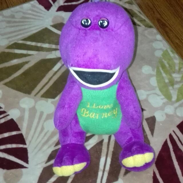 BArneY Med Stuffed Toy