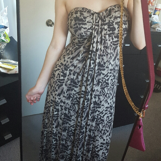 Beautiful Leopard print Maxi Dress