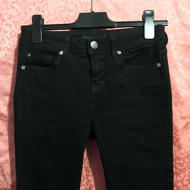 Black Fidelity Skinny Jeans