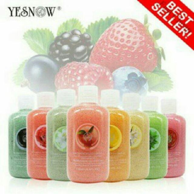 Body Spa Scrub Gel YESNOW Original Shower gel