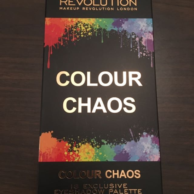 Brand new Colour Chaos eyeshadow