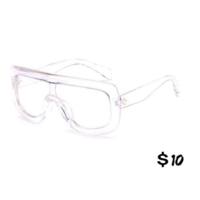 Brand New Oversized Clear Glasses