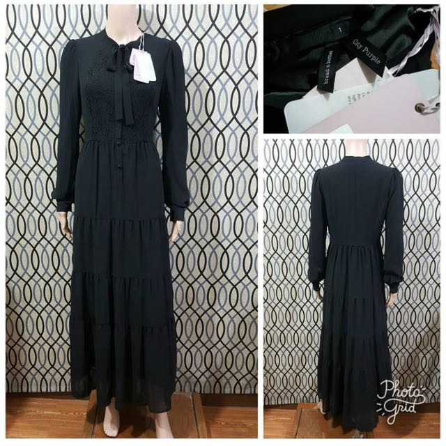 BRAND NEW TIE FRONT BREAD N BUTTER MAXI DRESS