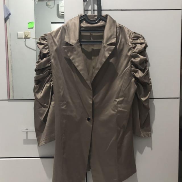Bronze blazer