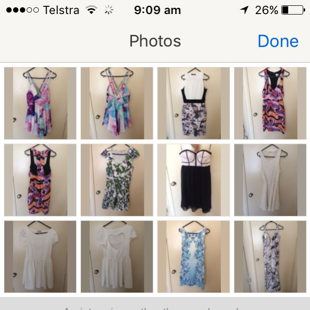 Bulk Lots Of Dresses, Tops, Playsuits And Jackets