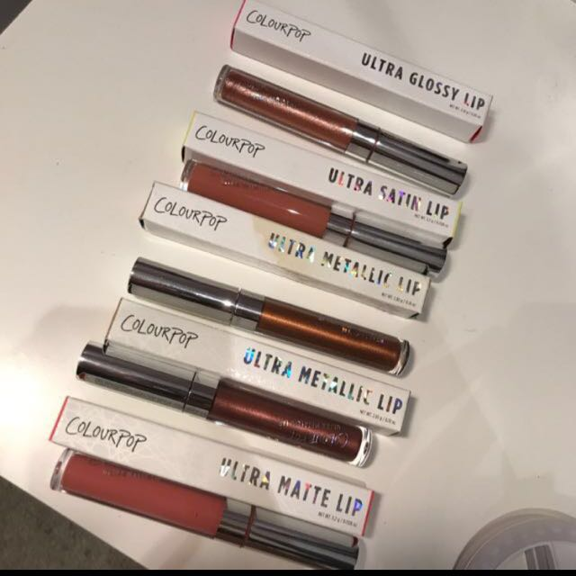 BUNDLE OF COLOURPOP $20