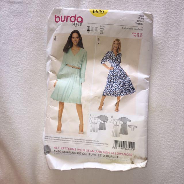 burda style A 6629