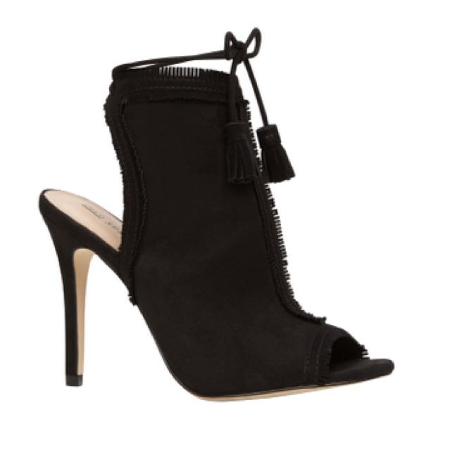 Call it spring - Black Sandal Heels