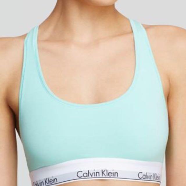 Calvin Klein Mint Bralette