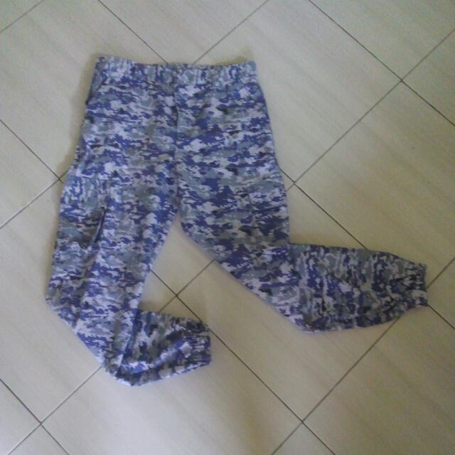 Canvas Army Pants Joger Style Ukuran 31