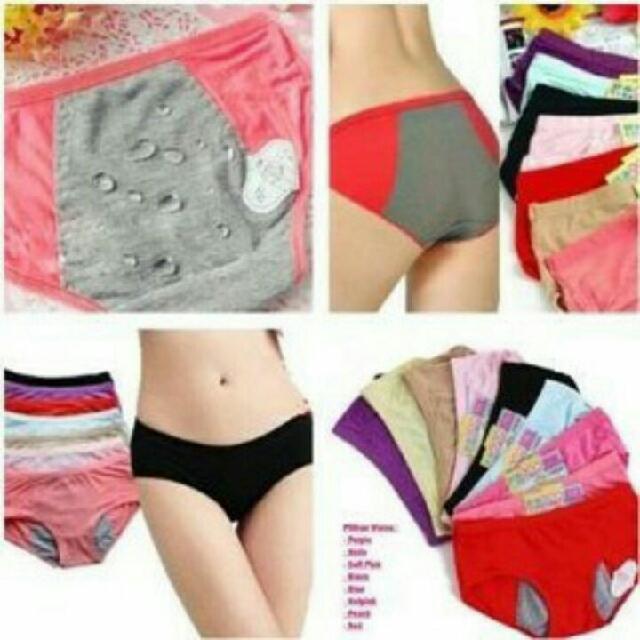 Celana dalam menstruasi (anti tembus)