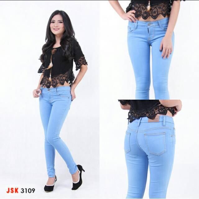 Celana panjang skinny JSK Jeans