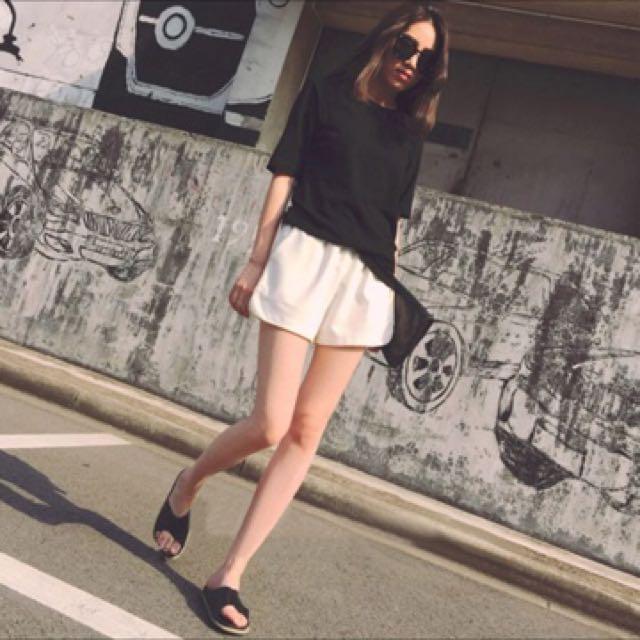Celana pendek putih import (tidak ikut promo)
