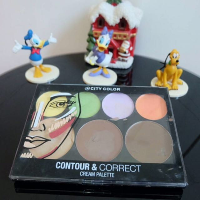 CITY COLOUR cream  & corrector palette