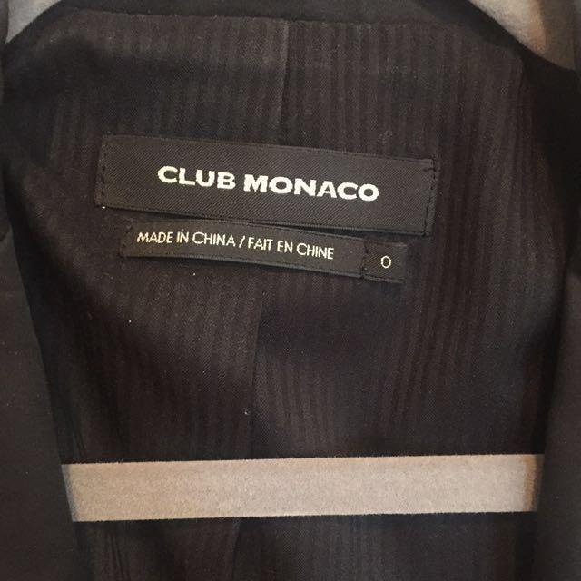Club Monaco Boyfriend Blazer