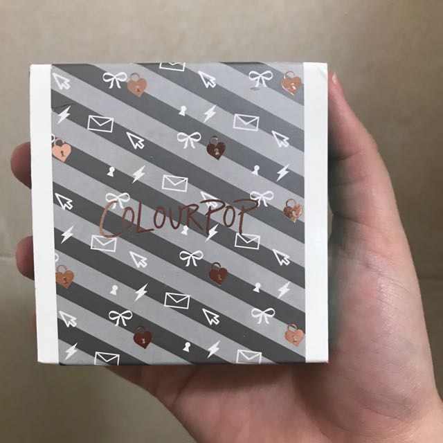 Colourpop Love Line Super Shock Eyeshadow Quad