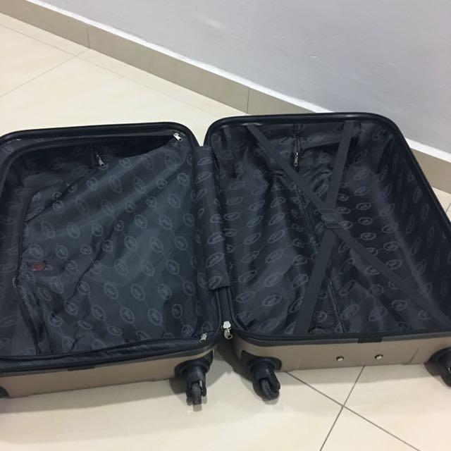 """Condotti 24"""" luggage"""