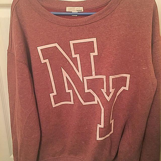 Crewneck Sweater From Garage