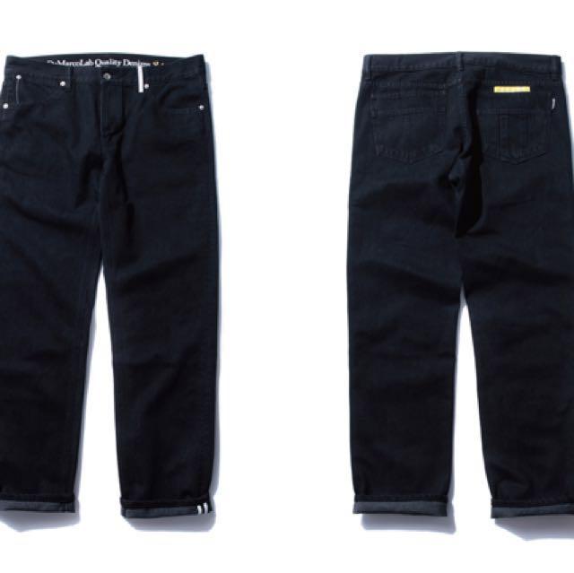 DeMarcoLab 黑色牛仔褲