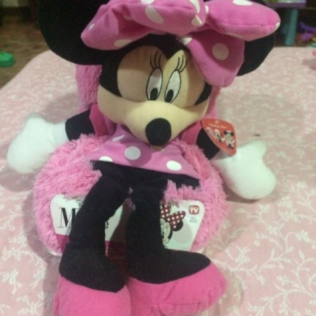 Disney Minnie Mouse hideaway pets pillow