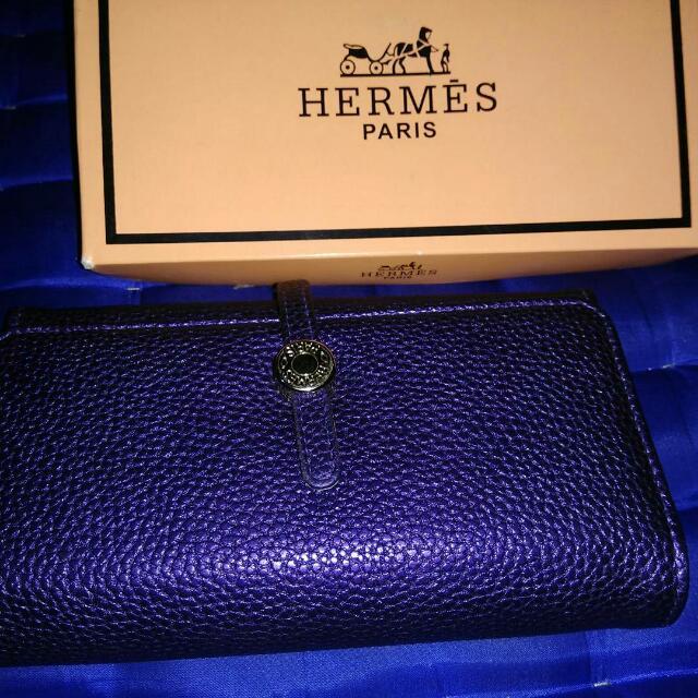 Dompet Hermes Ungu
