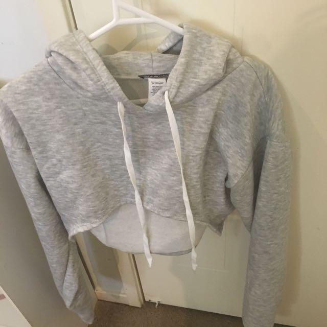 Fashion Nova cropped hoodie