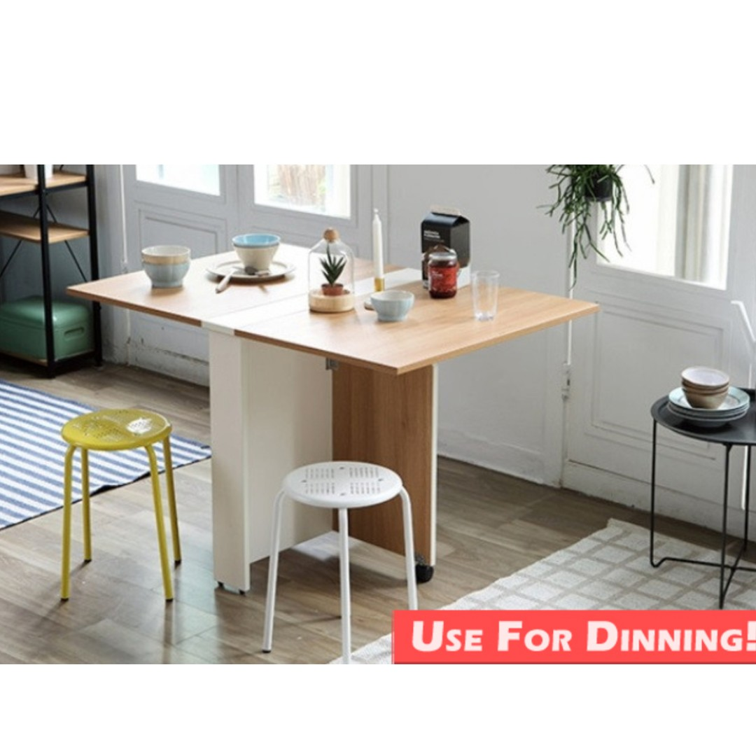 Foldable Table/ Table/ Dining Table/ Study Table/ Smart Table, Home U0026  Furniture, Others On Carousell