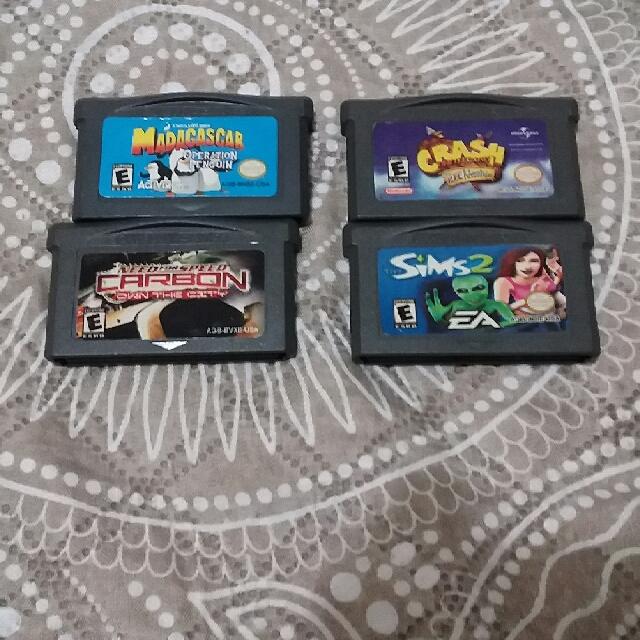Gameboy advance games bundle
