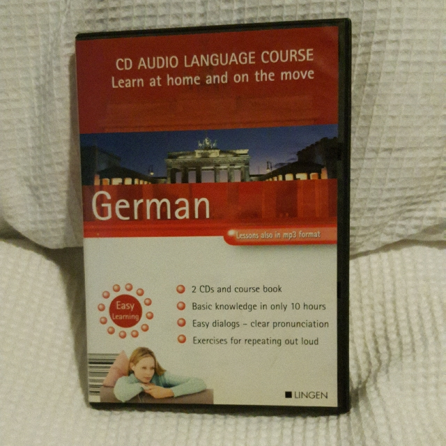 German CD audio language course