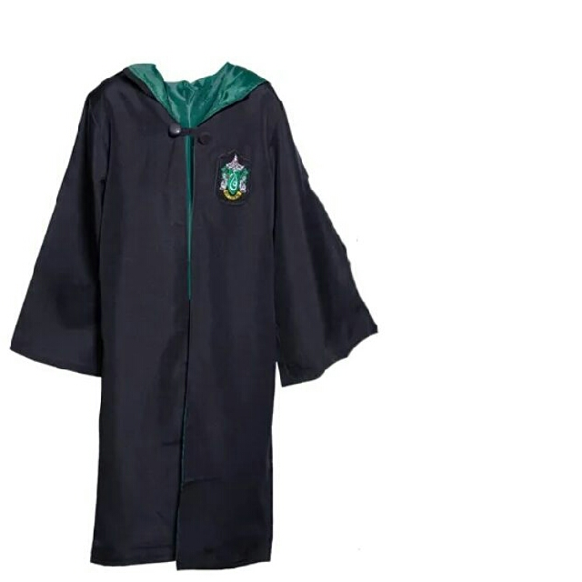 Harry Potter jubah slytherin ukuran L