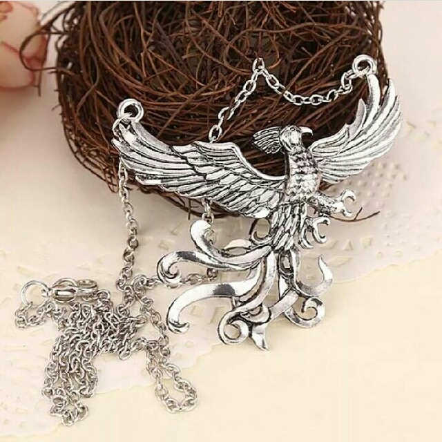 Harry Potter kalung phoenix