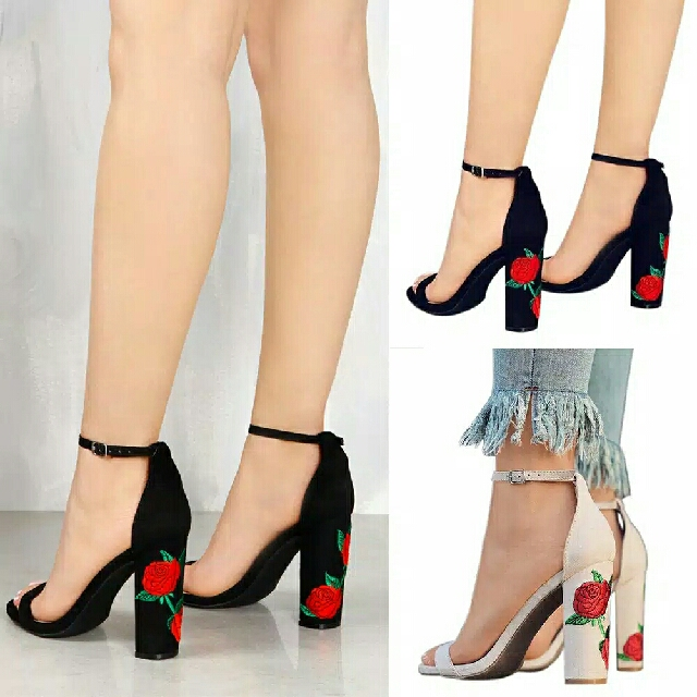 Heels Embroidery