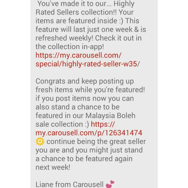 Highly Rated Seller! Thank You!