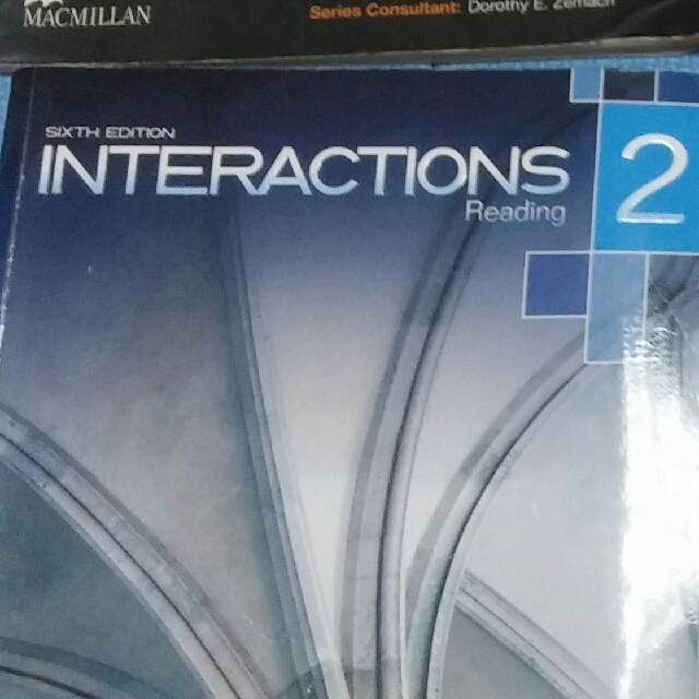 Interactions reading 2
