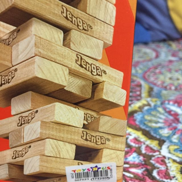 Jenga (selling low)