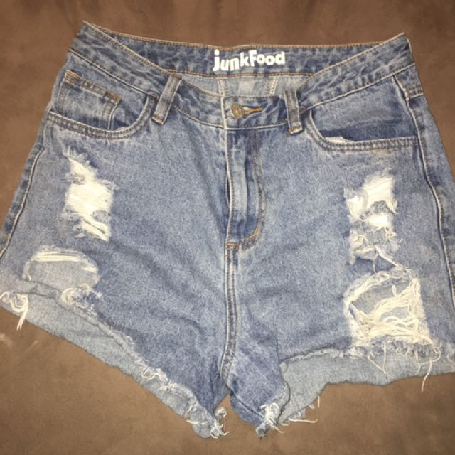 JUNKFOOD denim shorts